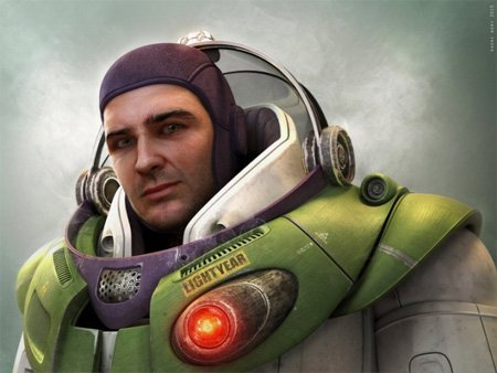 14 Fictional Characters in Real Life - Buzz Lightyear