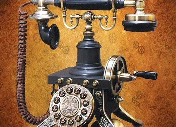 Museum Replicas Fucntional Steampunk Telephone