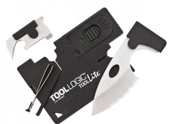 Tool Logic Credit Card Companion with LED Light