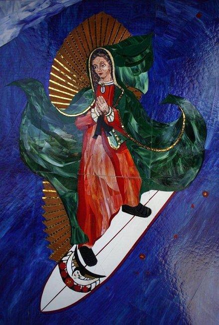 Carruth Cellars Surfing Madonna Save the Ocean North Coast Cuvee