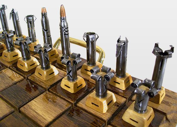 Bullet Chess Set | GearCulture