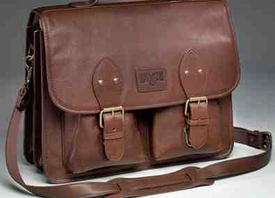 "Duluth Trading Co., ""Bashful Billionaire Briefcase"""