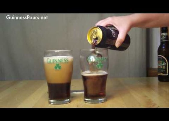Guinness Pour: Black & Tan, Blacksmith      - YouTube