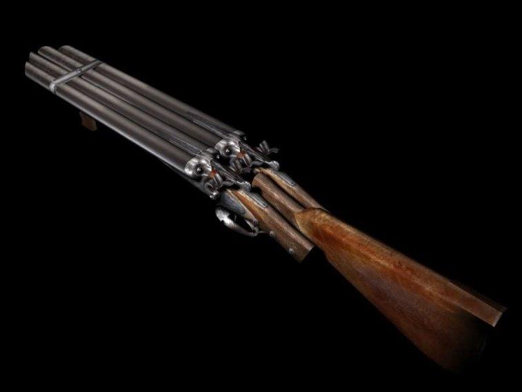 Reggie's QUAD barrel shotgun from Phantasm II