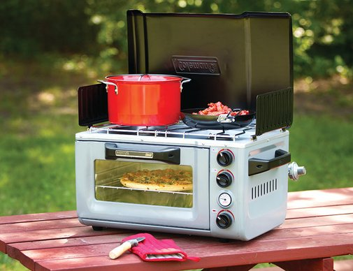 Coleman Outdoor Portable Oven & Stove | Gear Patrol