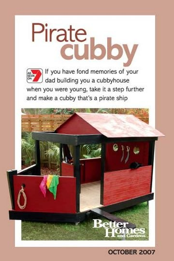 Pirate Cubby Pattern Sheet Better Homes Gardens