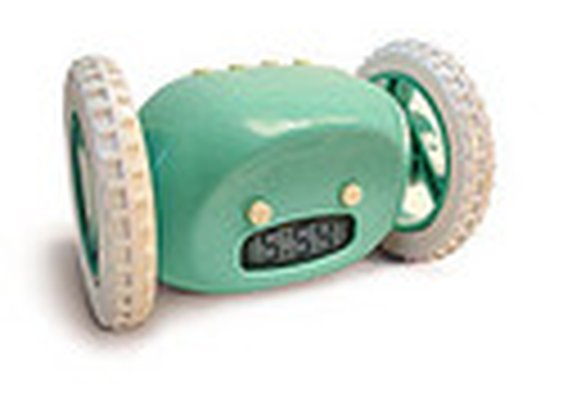 ThinkGeek :: Clocky Robotic Alarm