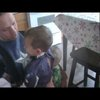 Military Dad, Disguised as Captain America, Surprises His Son on His Birthday      - YouTube