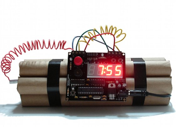 Defusable Alarm Clocks