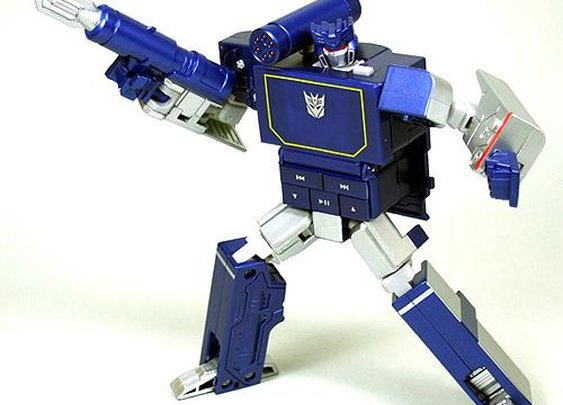 Soundwave Transformer MP3 player!