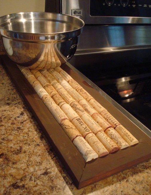 Recycled Cork Kitchen Trivet