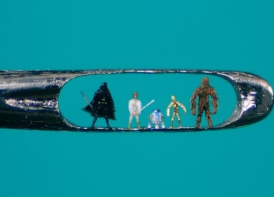 Micro-sculptures by Willard Wigan take a steady hand : theCHIVE