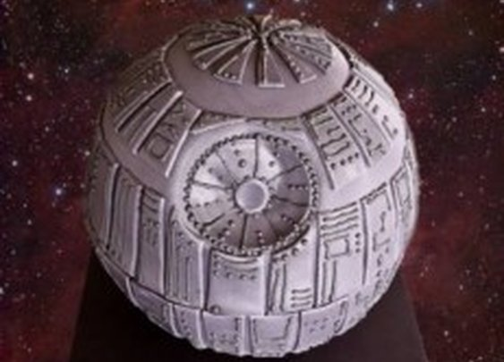 How to Make a Death Star Cake   The Mary Sue