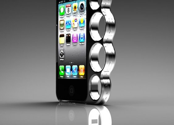 iPhone Brass Knuckle Case Is Sadly For Looking Not Punching | Geekosystem