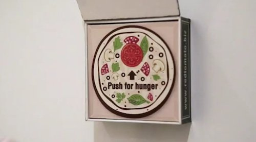 Refrigerator Magnet Lets You Order Pizza Simply By Tapping It