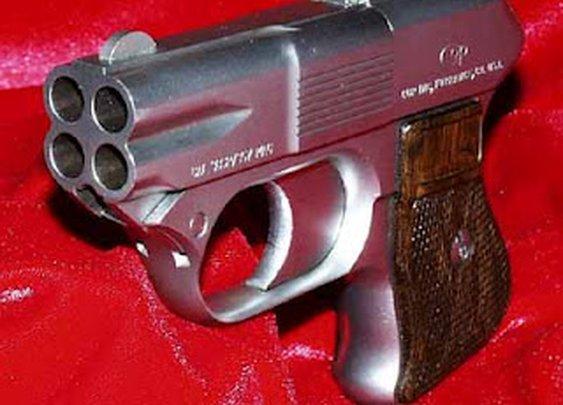 COP 357 Derringer multiple barrel firearm | World of Weapons