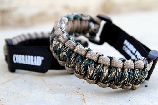Cobrabraid Survival Bracelets
