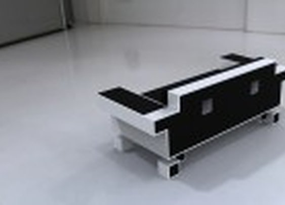 Space Invader Couch - Igor Chak
