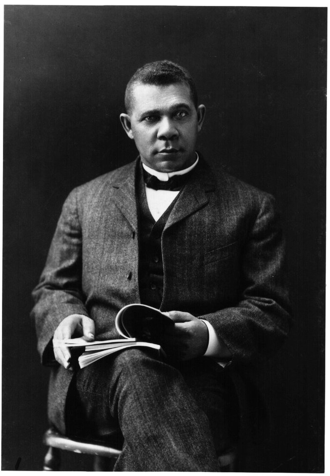 a biography of booker t washington the leading voice of the former slaves and their descendants Over time, washington became the leading voice of former slaves and their descendants although slavery ended during his lifetime, booker t washington saw new oppression in the south with disenfranchisement and jim crow laws, so he worked to fight that post-reconstruction oppression in former slaveholding states.