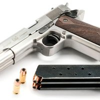 Double Barrel Handgun Means You Only Have To Be Half as Accurate