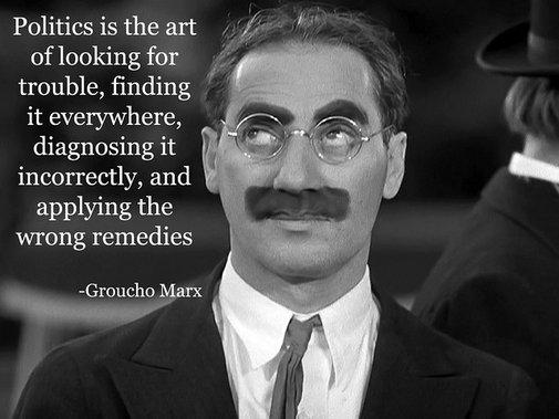 Groucho Marx on Politics | Flickr - Photo Sharing!