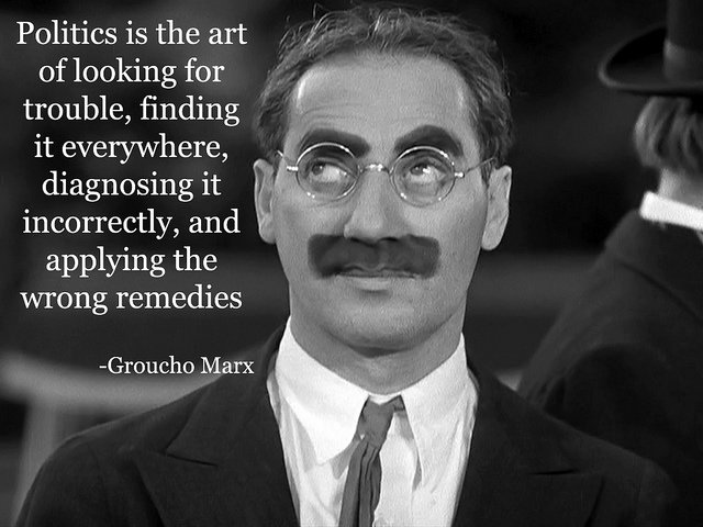Groucho Marx on Politics | Flickr - Photo Sharing!