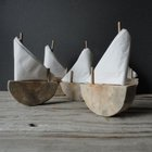 Driftwood Sailboat Napkin Holder