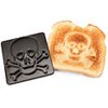 ThinkGeek :: Pirates On Toast Jolly Roger Toast Stamp