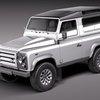 Land Rover Defender  X-Tech 3D Model