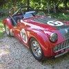 Beauty. Triumph TR3.