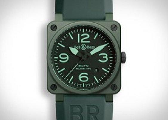BELL & ROSS MILITARY CERAMIC WATCH | MonkeyBait