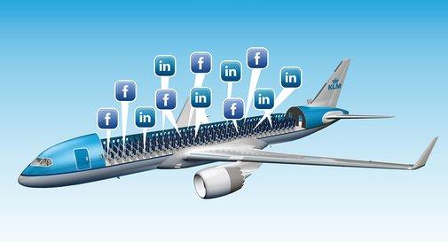 KLM Lets You Choose Seatmates Based On Facebook And LinkedIn Profiles