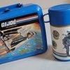 1980s Vintage GI Joe Lunch Box Thermos Aladdin Blue by CraftySara