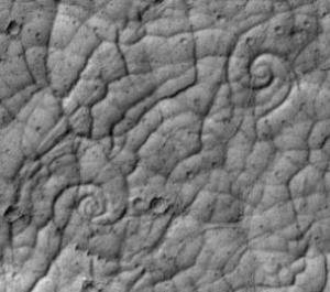 New form of lava flow discovered on Mars