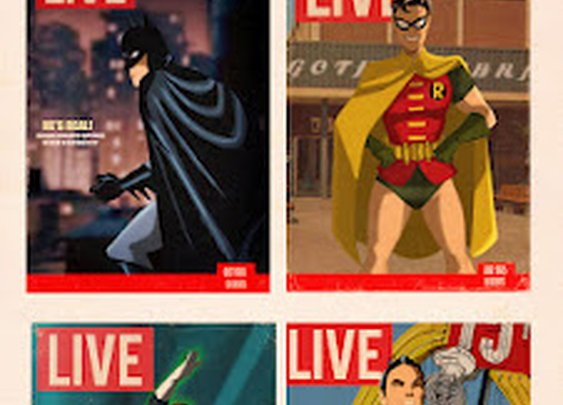 despopart: SUPER HEROES- THE LIVE COVER COLLECTION