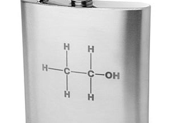 ThinkGeek :: Ethanol Molecule Flask