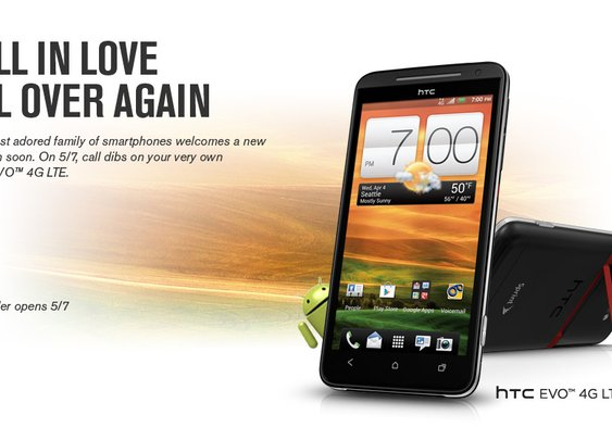 HTC EVO 4G LTE coming to Sprint on May 7