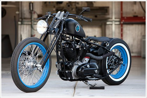 DP Customs 'Seventy Three' Harley Ironhead