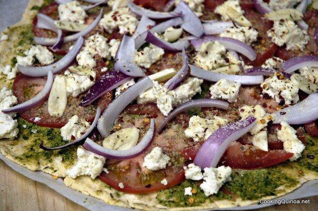 Gluten Free Quinoa Pizza Dough | Gentlemint