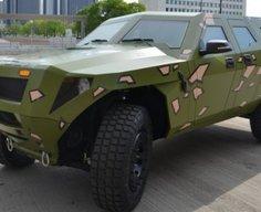 Hybrid Humvee? US Army shows its diesel hybrid field vehicle