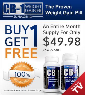 CB-1 Weight Gainer | Weight Gain Pills | Gentlemint