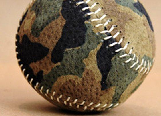 Camo Baseball | Cool Material