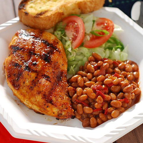 Nibble Me This: Mothers' Day Old School BBQ Chicken