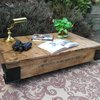 Cool, rustic industrial styled coffee table