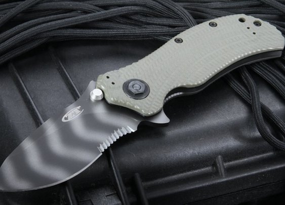Zero Tolerance 0301ST Serrated Folding Knife - ZT 0301ST - by Zero Tolerance Knives, Zero Tolerance Knife