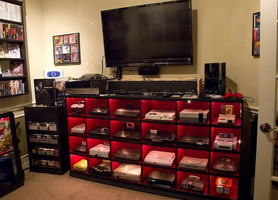 PHOTO: Video Game System Collection