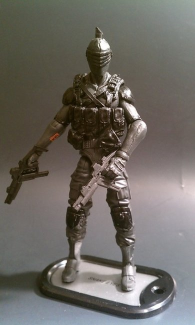 G.I.Joe: Retaliation Amazon Preview Set Snake Eyes
