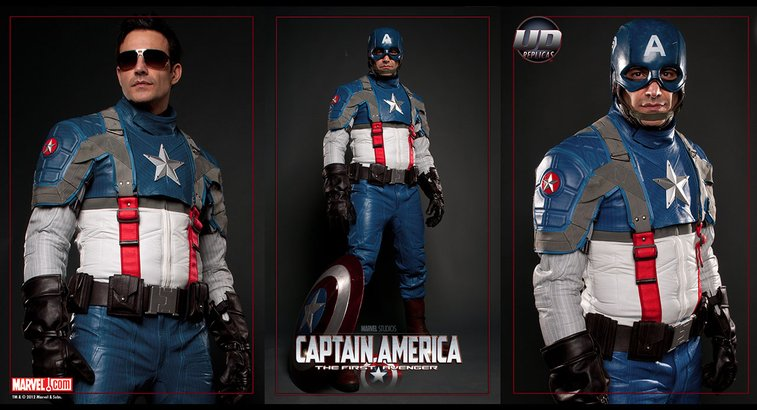 Ud Replicas Captain America Motorcycle Suit Gentlemint