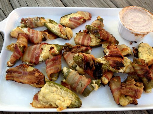 GRILLED BACON WRAPPED JALAPENO POPPERS   | Washington's Green Grocer