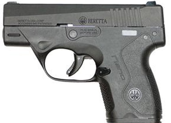 Beretta Nano 9x19mm Fixed Sight